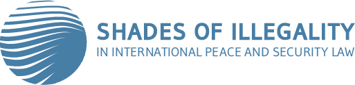 Shades of illegality in international peace and security law